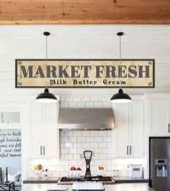 90 Best Farmhouse Kitchen Cabinet Design Ideas (28)