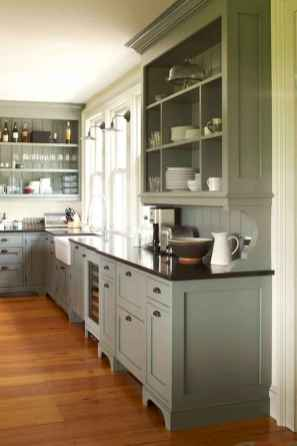 90 Best Farmhouse Kitchen Cabinet Design Ideas (34)