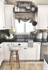 90 Best Farmhouse Kitchen Cabinet Design Ideas (43)