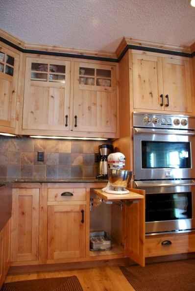 90 Best Farmhouse Kitchen Cabinet Design Ideas (46)