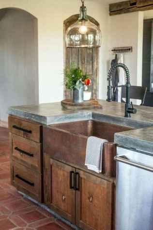 90 Best Farmhouse Kitchen Cabinet Design Ideas (85)