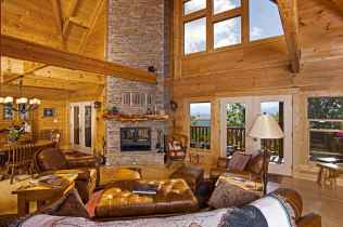 25 Cabin Living Room Ideas Decor (12)