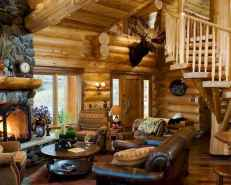 25 Cabin Living Room Ideas Decor (4)