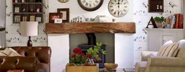 25 Country Style Living Room Ideas Decorations (23)