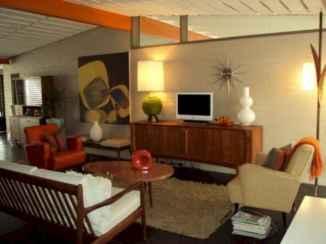 25 Mid Century Living Room Decor Ideas (19)