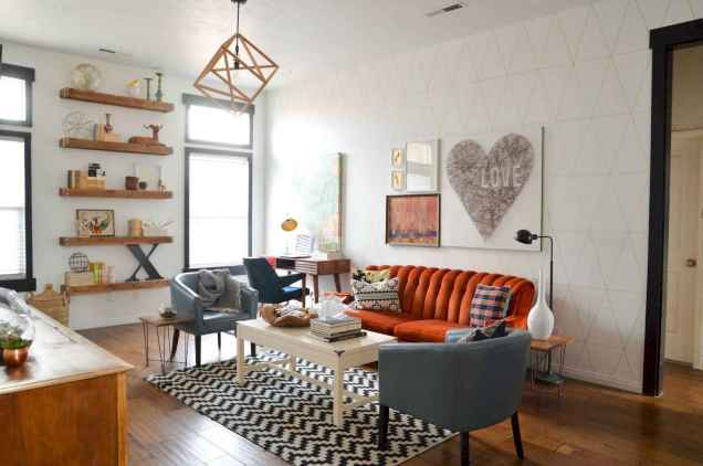 25 Mid Century Living Room Decor Ideas (20)