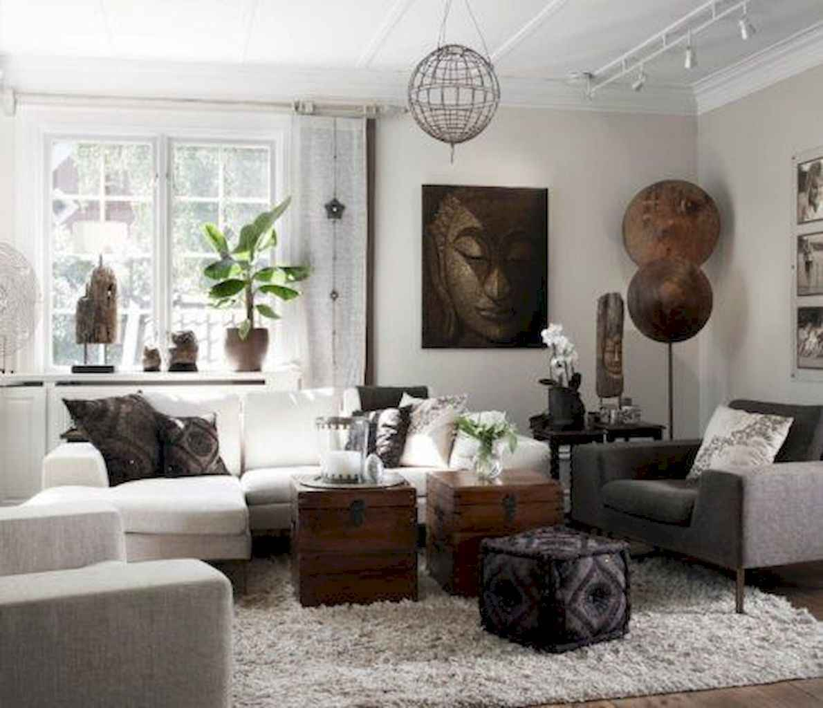 35 Asian Living Room Decor Ideas (16)