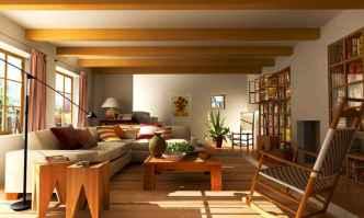 35 Asian Living Room Decor Ideas (24)