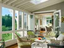 35 Best Farmhouse Sunroom Decor Ideas and Remodel (15)