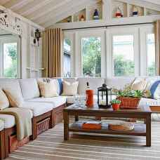 35 Best Farmhouse Sunroom Decor Ideas and Remodel (19)