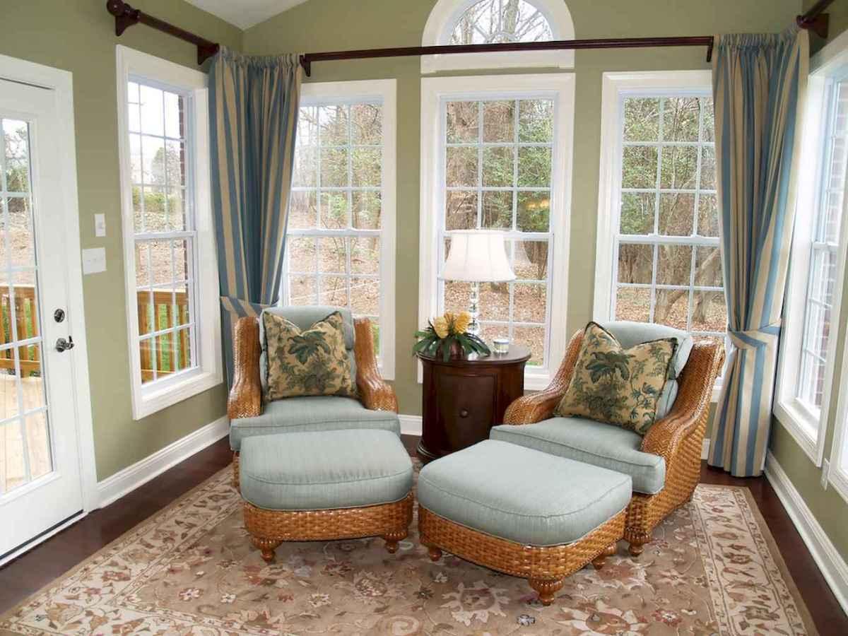 35 Best Farmhouse Sunroom Decor Ideas and Remodel (28)