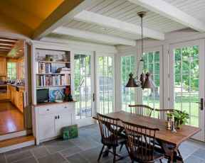 35 Best Farmhouse Sunroom Decor Ideas and Remodel (9)