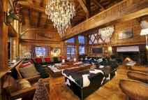 35 Chalet Living Room Decor Ideas (14)