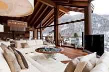 35 Chalet Living Room Decor Ideas (21)