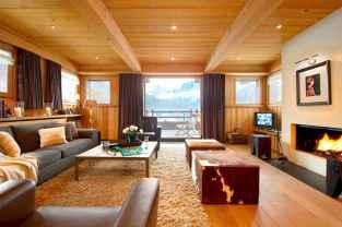 35 Chalet Living Room Decor Ideas (26)