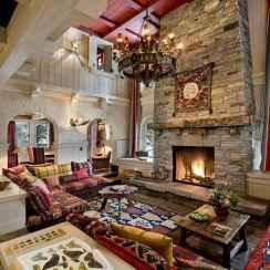 35 Chalet Living Room Decor Ideas (30)