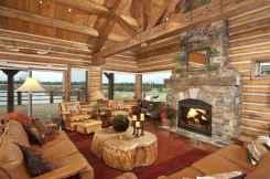 35 Chalet Living Room Decor Ideas (31)