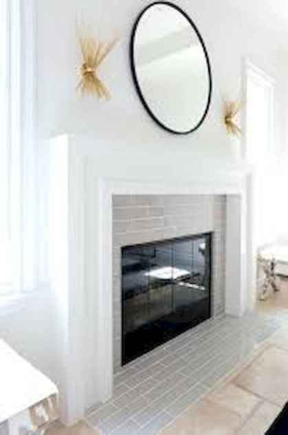 40 Awesome Farmhouse Fireplace Decor Ideas and Remodel (30)