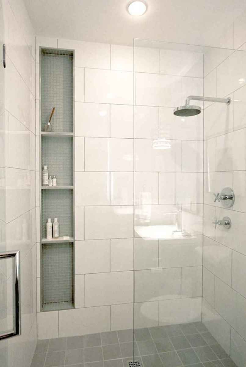 40 Beautiful Bathroom Shower Tile Design Ideas and Makeover (11)