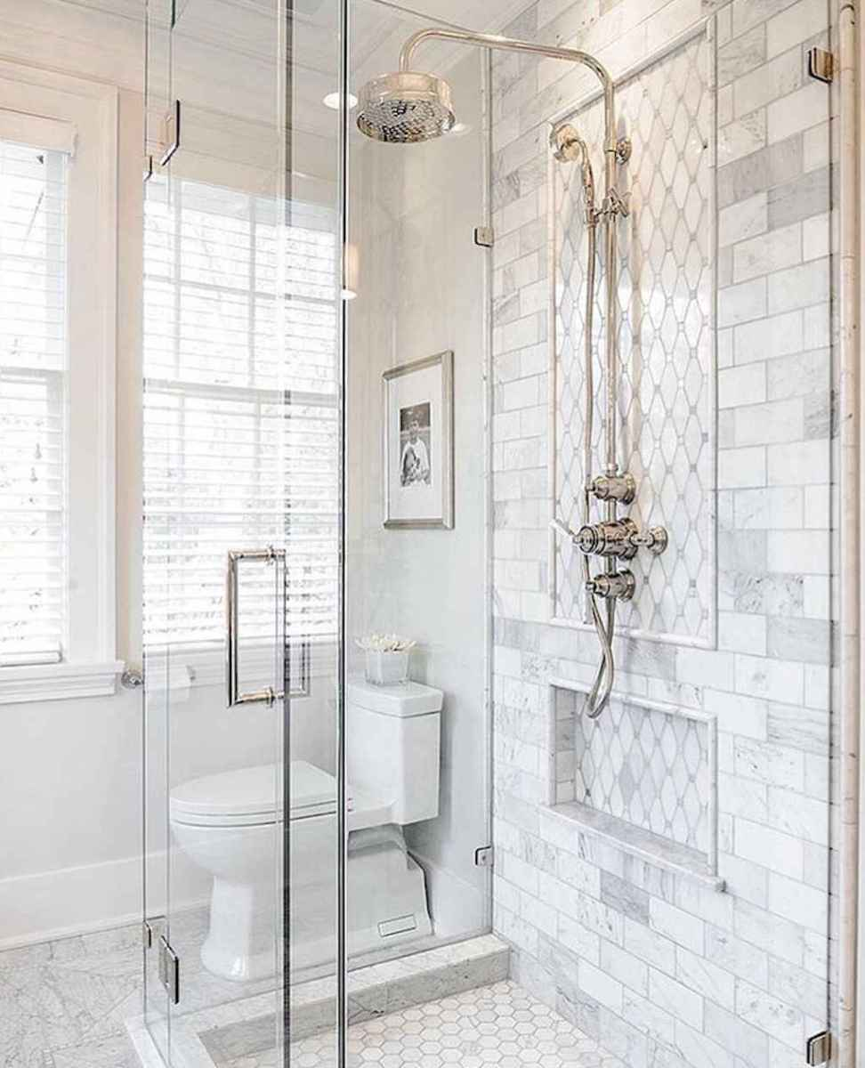 40 Beautiful Bathroom Shower Tile Design Ideas and Makeover (2)
