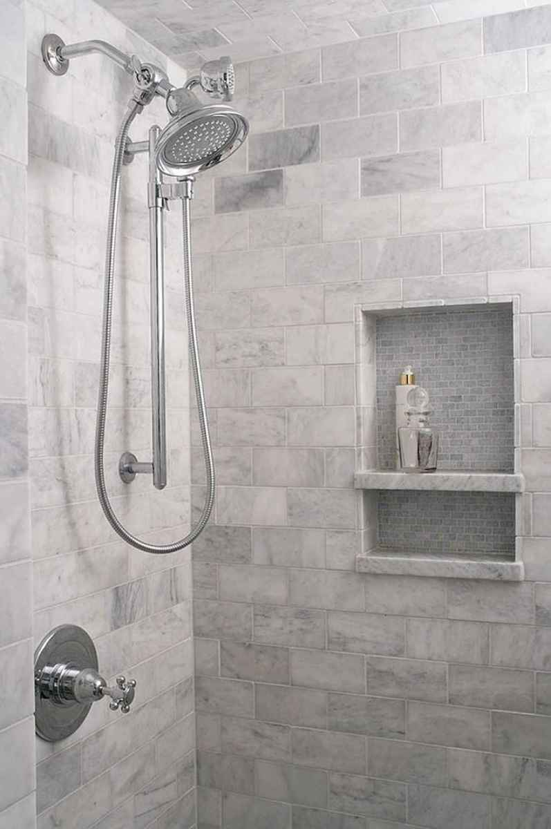 40 Beautiful Bathroom Shower Tile Design Ideas and Makeover (26)