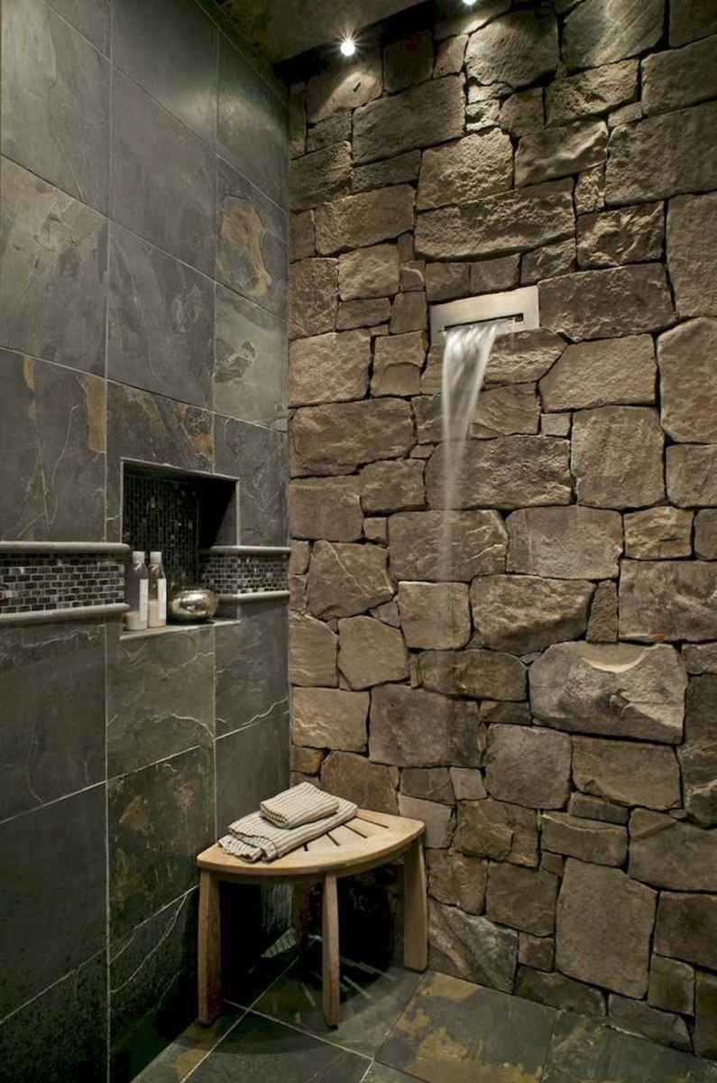 40 Beautiful Bathroom Shower Tile Design Ideas and Makeover (27)
