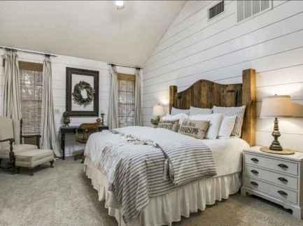 40 Modern Farmhouse Bedroom Decor Ideas and Makeover (23)