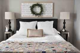 40 Modern Farmhouse Bedroom Decor Ideas and Makeover (35)
