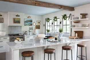 45 Modern Farmhouse Kitchen Cabinets Decor Ideas and Makeover (21)