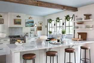 45 Modern Farmhouse Kitchen Cabinets Decor Ideas and Makeover (21)