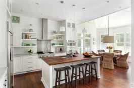 45 Modern Farmhouse Kitchen Cabinets Decor Ideas and Makeover (26)