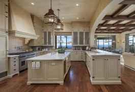 45 Modern Farmhouse Kitchen Cabinets Decor Ideas and Makeover (27)