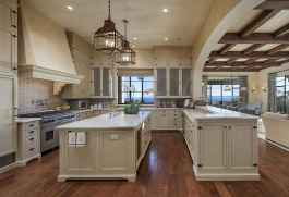 45 Modern Farmhouse Kitchen Cabinets Decor Ideas and Makeover (27)