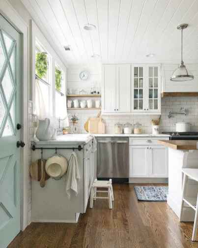 45 Modern Farmhouse Kitchen Cabinets Decor Ideas and Makeover (30)