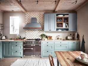 45 Modern Farmhouse Kitchen Cabinets Decor Ideas and Makeover (35)