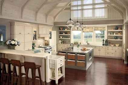 45 Modern Farmhouse Kitchen Cabinets Decor Ideas and Makeover (5)