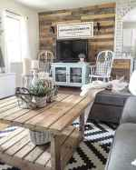 50 Best Rustic Apartment Living Room Decor Ideas and Makeover (32)