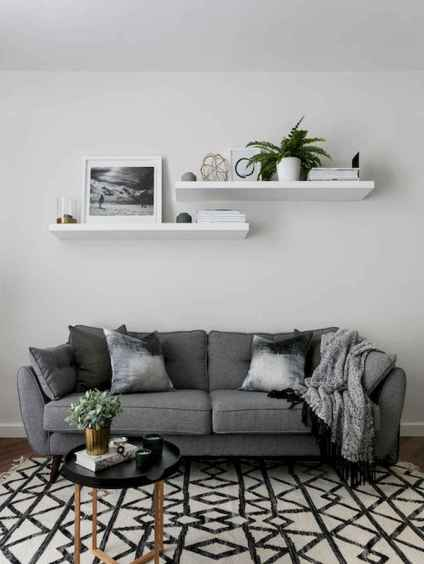 50 Best Rustic Apartment Living Room Decor Ideas and Makeover (37)