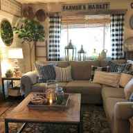 50 Best Rustic Apartment Living Room Decor Ideas and Makeover (47)
