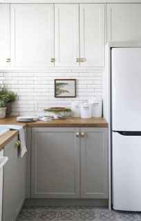50 Cool Apartment Kitchen Rental Decor Ideas and Makeover (14)