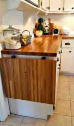 50 Cool Apartment Kitchen Rental Decor Ideas and Makeover (37)