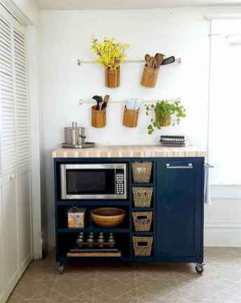 50 Cool Apartment Kitchen Rental Decor Ideas and Makeover (4)