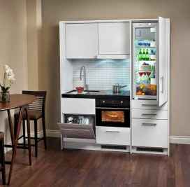 50 Cool Apartment Kitchen Rental Decor Ideas and Makeover (40)