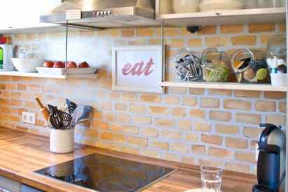 50 Cool Apartment Kitchen Rental Decor Ideas and Makeover (45)