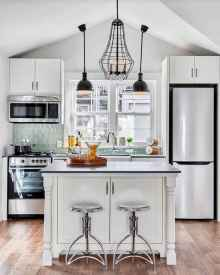 50 Cool Apartment Kitchen Rental Decor Ideas and Makeover (46)