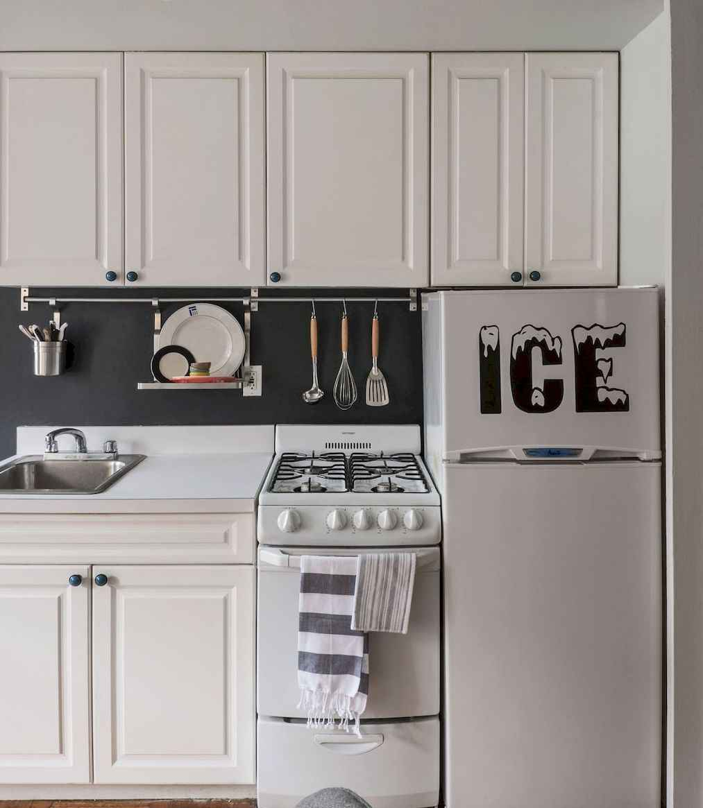 50 Cool Apartment Kitchen Rental Decor Ideas and Makeover (6 ...