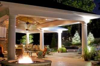 55 Beautiful Backyard Lighting Decor Ideas and Remodel (17)