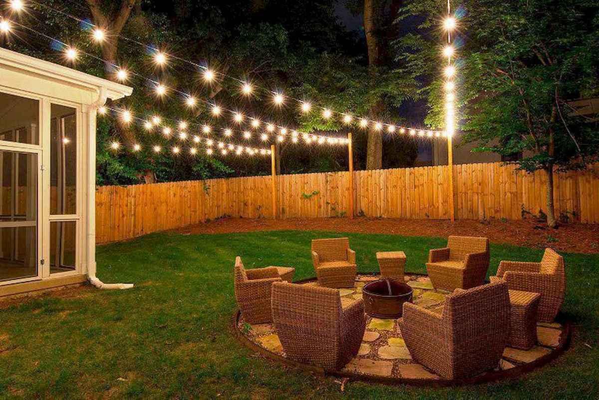55 Beautiful Backyard Lighting Decor Ideas and Remodel (27)