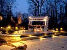 55 Beautiful Backyard Lighting Decor Ideas and Remodel (33)