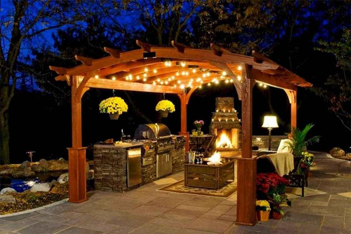 55 Beautiful Backyard Lighting Decor Ideas and Remodel (45)